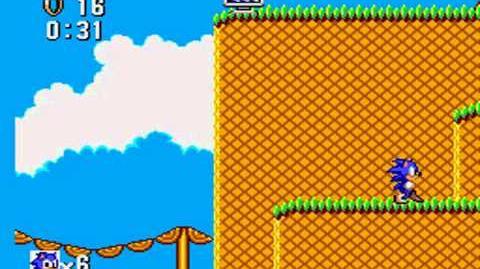 Sonic the Hedgehog (MS) Zone 2 Bridge
