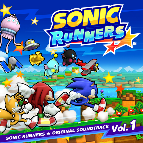 File:Sonic Runners Original Soundtrack Volume 1.png