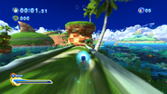 Sonic Generations @ Seaside Hill Boost