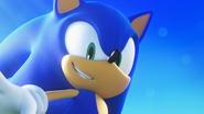 Sonic's smile