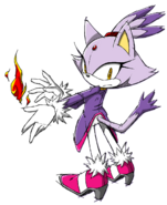Sonic Channel - Blaze the Cat 2013