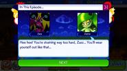 Sonic Runners Zazz Raid Event Zeena Zor Cutscene