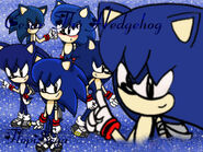 Cesar The Hedgehog Wallpaper FlopiSega