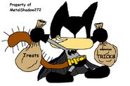 Kippy As Batman
