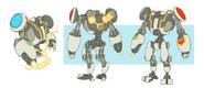 Robot concept art