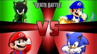 SSBUltimate Jack and SMG4 vs Mario and Sonic (Round 1)