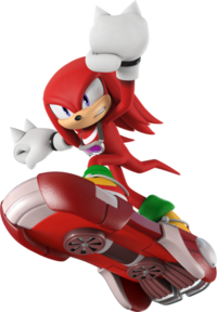 Sonic Free Riders - Knuckles - 416 X 600