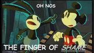 THE FINGER OF SHAME