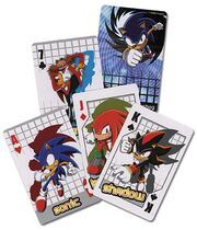 Sonic playing cards (Sonic X set)