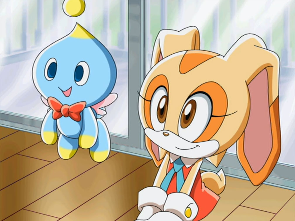 File:Cheese the Chao-Sonic X.jpg