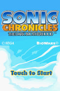 Sonic Chronicles (The Dark Brotherhood) - Title Screen