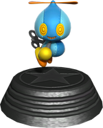 Sonic Generations Omochao Statue