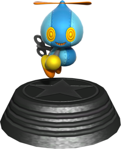 File:Sonic Generations Omochao Statue.png