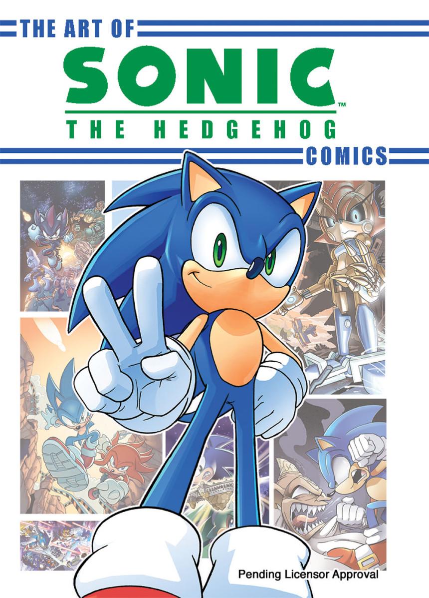 The Art Of The Sonic The Hedgehog Comics Sonic News
