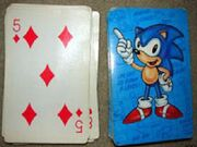 Sonic Playing Cards (Classic set)