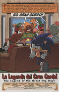 Sonic X issue 26 page 1