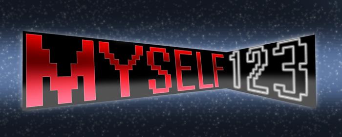 Myself 123 logo by mightywhiskey-d954soz