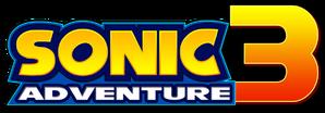 Sonic adventure 3 logo by sonicguru-d4u0ms5