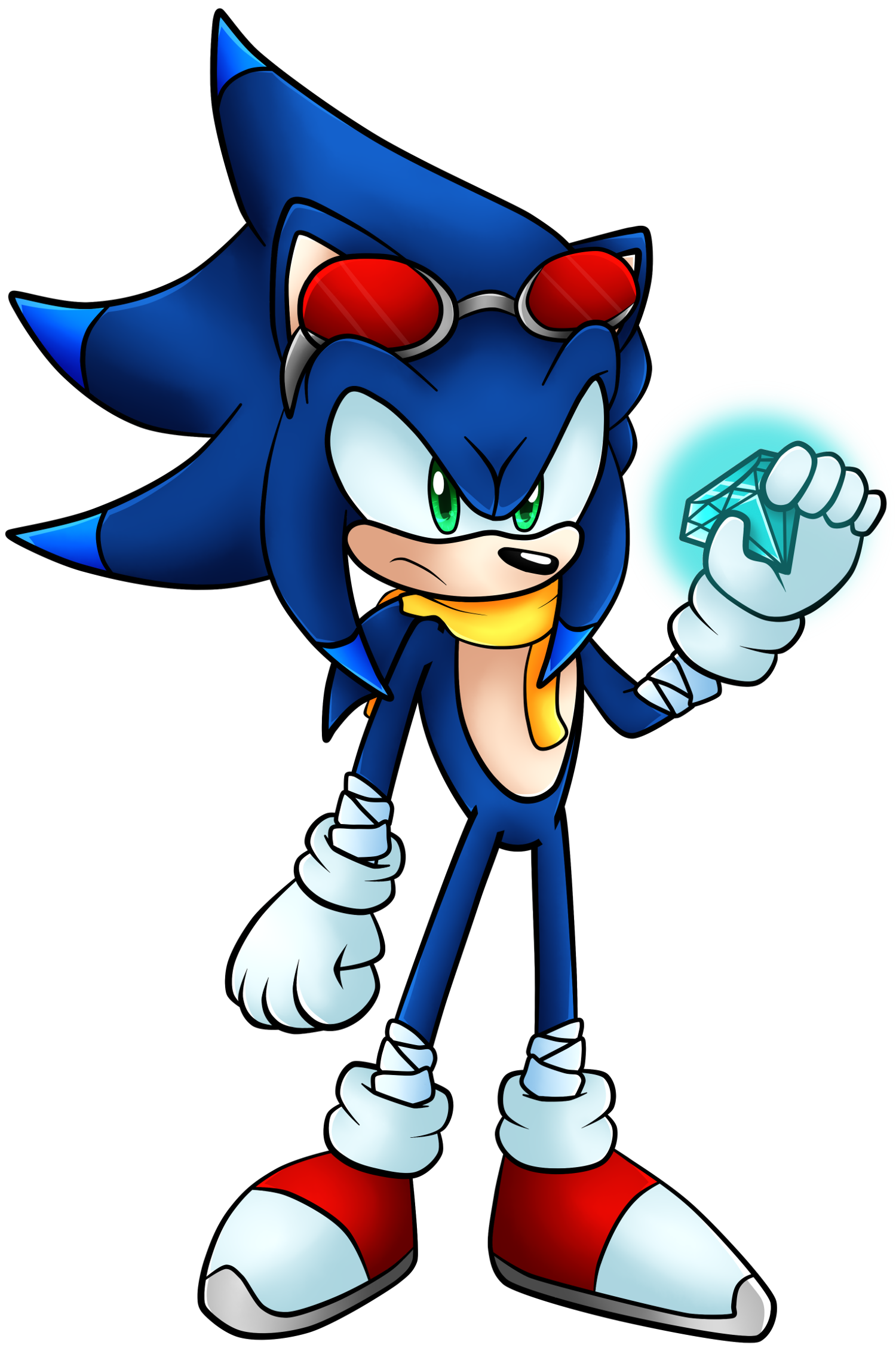 Trident The Hedgehog   Sonic Fanon Wiki   FANDOM powered ...