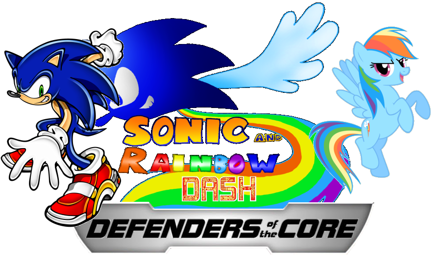 Sonic Amp Rainbow Dash Defenders Of The Core Sonic Fanon