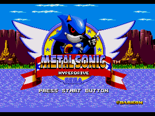 Metal Sonic Hyperdrive Sonic The Hedgehog Hacks Wiki