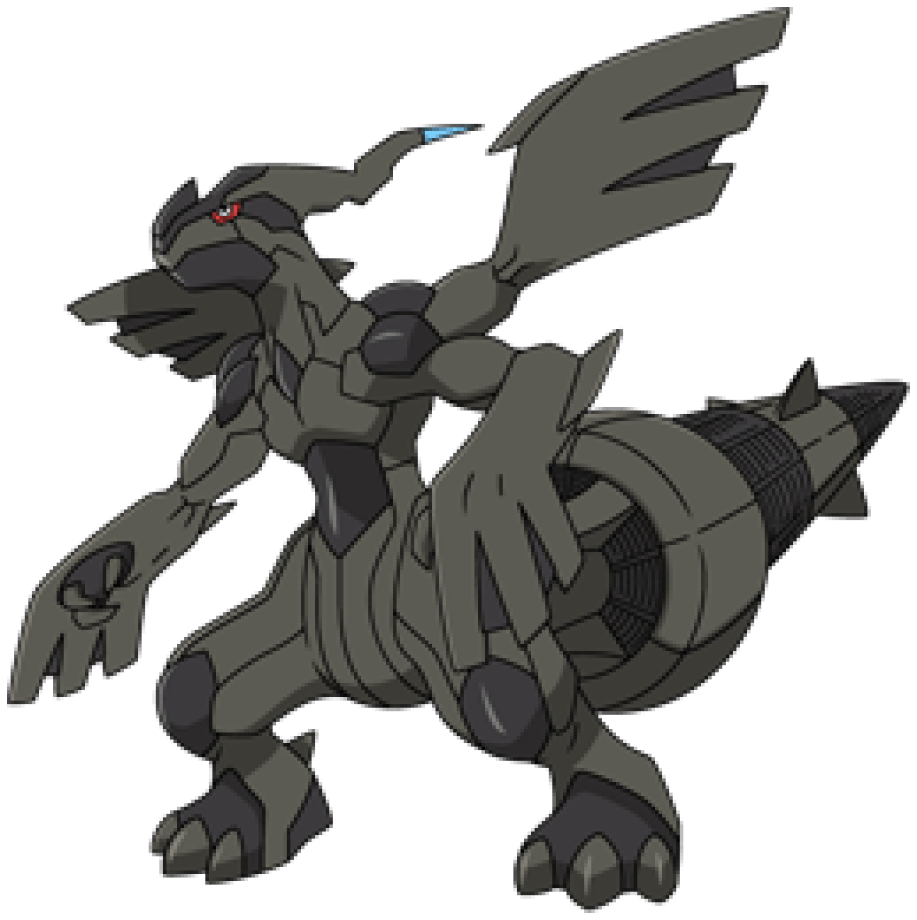 coloring pages pokemon zekrom x - photo#38