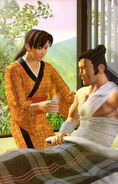 Li Long and Chie 3D (Soul Edge Artbook)