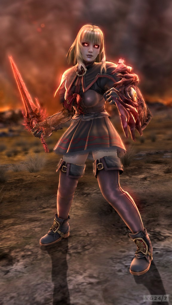 Soul calibur pyrrha omega hot