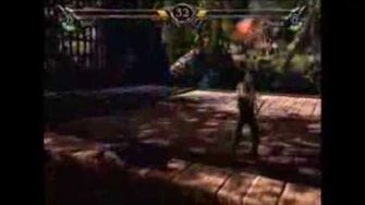 Soul Calibur Essence of Phaze (Demo Battle) Sonic VS Shadow