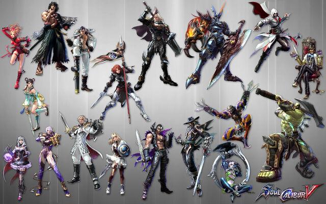 File:Soul Calibur V All Character.jpg