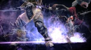 Black Ninja Vs Killer SC4 4
