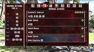 SoulCalibur IV PS3 Sophitia Alexandra's Command List