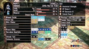 Draenei Carmella SC4 Details