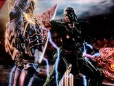 Dark Omega vs NightmareLuke1