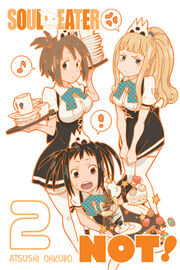 Soul Eater Not! volume cover 2