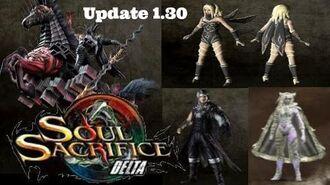 Soul Sacrifice DELTA - Update 1.30 Magusar White Cat Gravity Rush Odin DLC