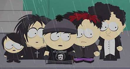 Goth Stan x Kyle Stan And The Goth Kids Look at