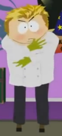 Cartman as Gordon Ramsay