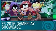 South Park The Fractured But Whole Gameplay Showcase with Trey and Matt – E3 2016 US