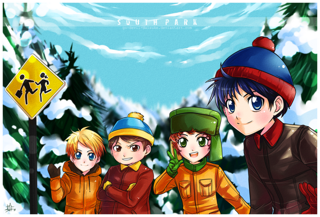 File:South Park by Go Devil Daisuke.png