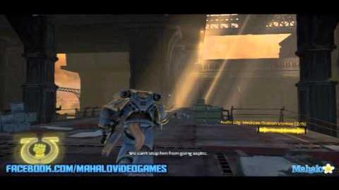 Warhammer Space Marine - Walkthrough - Planetfall - Chapter 4 Titans of Graia 1