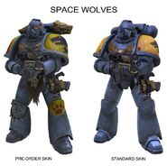 Preorder comparison space wolves