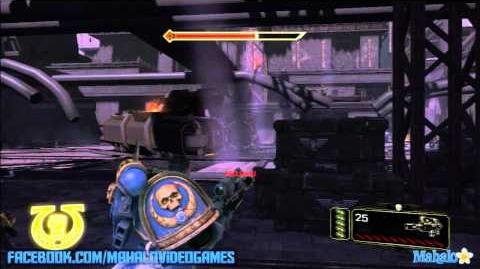 Warhammer Space Marine - Walkthrough - Dying of the Light - Chapter 12 Dying of the Light 2