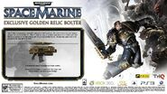 Golden relic bolter ad