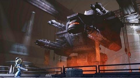 Imperial Titan Invictus (Warhammer 40k Space Marine) Full HD