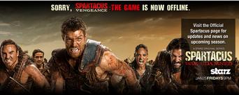 Spartacus vengence offline