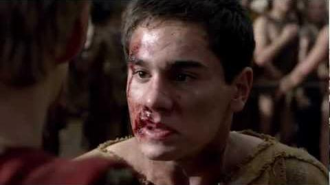 Spartacus War Of The Damned Tiberius Death Full Scene