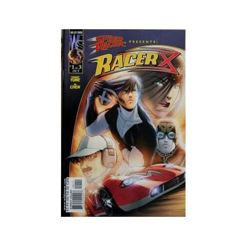 The Mach 1 on the cover of <i>Speed Racer presents Racer X</i> Vol. 1