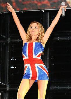 Union Jack dress | Spice Girls Wiki
