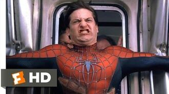 Spider-Man 2 - Stopping the Train Scene (7 10) Movieclips